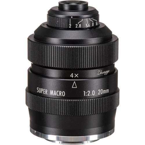 Mitakon Zhongyi 20mm f/2 4.5x Super Macro Lens for Fujifilm X