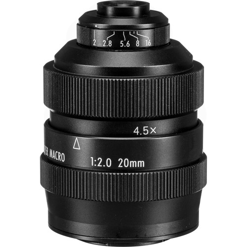 Mitakon Zhongyi 20mm f/2 4.5x Super Macro Lens for Micro Four Thirds