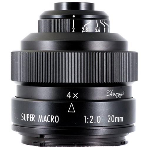 Mitakon Zhongyi 20mm f/2 4.5x Super Macro Lens for Pentax K