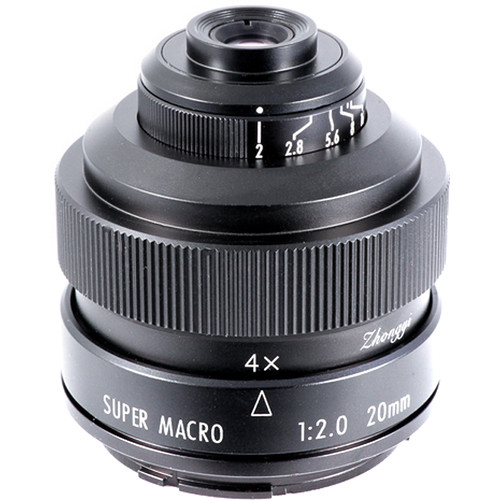 Mitakon Zhongyi 20mm f/2 4.5x Super Macro Lens for Sony A