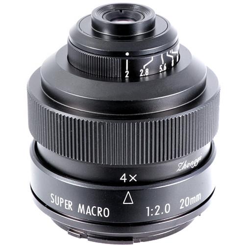 Mitakon Zhongyi 20mm f/2 4.5x Super Macro Lens for Sony A