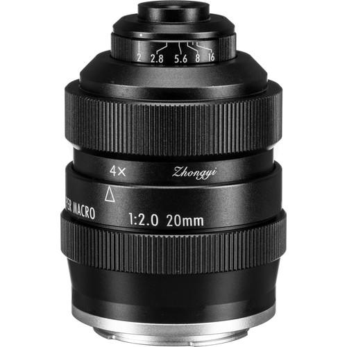 Mitakon Zhongyi 20mm f/2 4.5x Super Macro Lens for Sony E
