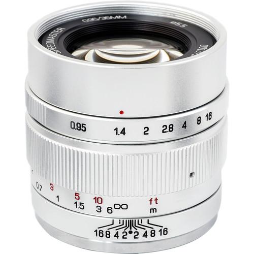 Mitakon Zhongyi Speedmaster 35mm f/0.95 Mark II Lens for Canon EF-M (Silver)