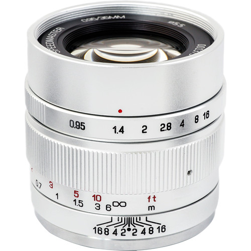 Mitakon Zhongyi Speedmaster 35mm f/0.95 Mark II Lens for Canon EF-M (Silver)