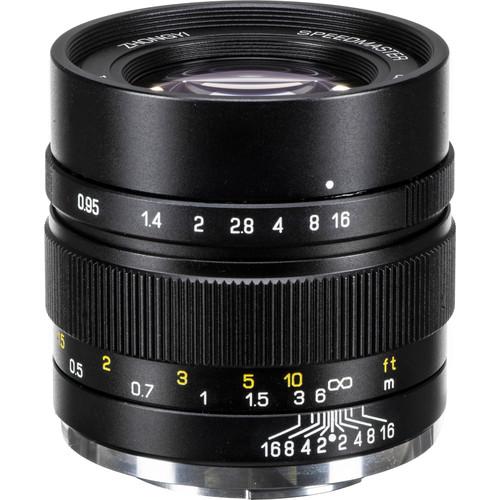 Mitakon Zhongyi Speedmaster 35mm f/0.95 Mark II Lens for Sony E (Black)