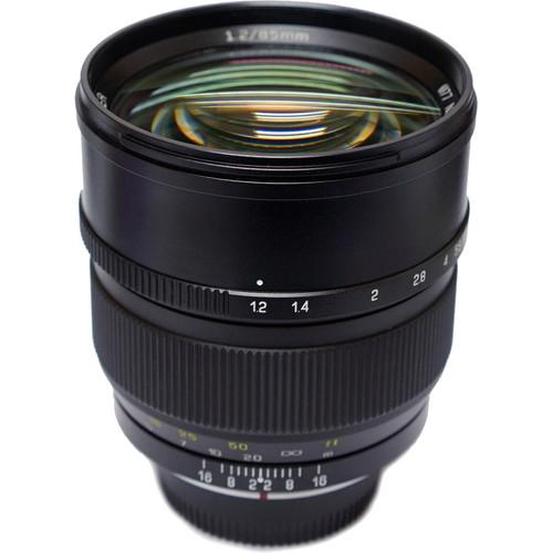 Mitakon Zhongyi Speedmaster 85mm f/1.2 Lens for Nikon F