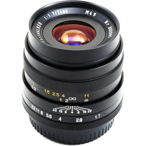 Mitakon Zhongyi FreeWalker 24mm f/1.7 Lens for Fujifilm X