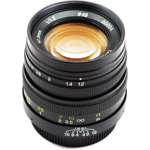 Mitakon Zhongyi FreeWalker 42.5mm f/1.2 Lens for Micro Four Thirds