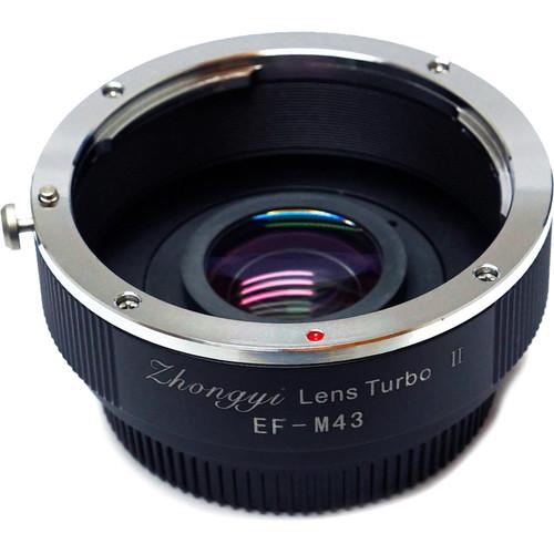 Mitakon Zhongyi Canon EF Lens to Micro Four Thirds Camera Lens Turbo Adapter Mark II