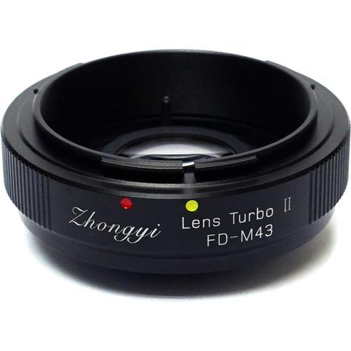 Mitakon Zhongyi Canon FD Lens to Micro Four Thirds Camera Lens Turbo Adapter Mark II