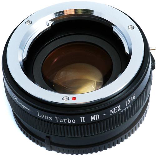 Mitakon Zhongyi Lens Turbo Adapter V2 for Full-Frame Minolta MD-Mount Lens to Sony E-Mount APS-C Camera