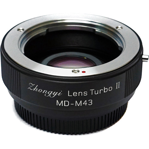 Mitakon Zhongyi Minolta MD Lens to Micro Four Thirds Camera Lens Turbo Adapter Mark II