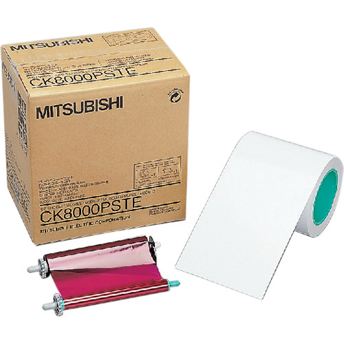 "Mitsubishi CK-8000PSTE 4 x 6"" Postcard Media Set"