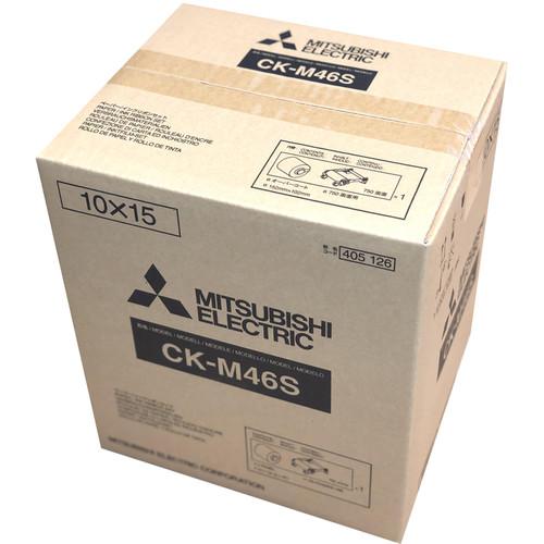 "Mitsubishi 4 x 6"" Media Pack for CP-M1A Dye Sub Photo Printer"