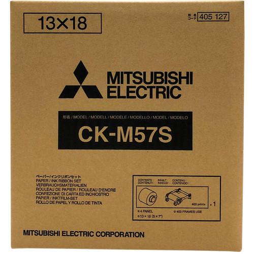 "Mitsubishi 5 x 7"" Media Pack for CP-M1A Dye Sub Photo Printer"