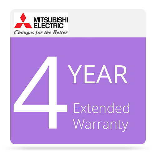 Mitsubishi 4-Year Extended Warranty for Select Photo Printers