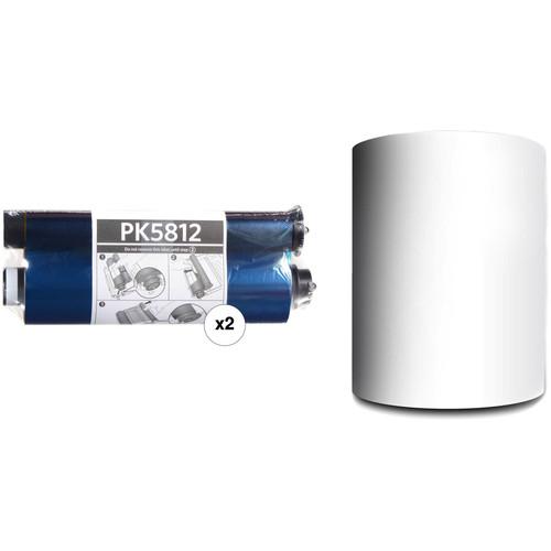 Mitsubishi PK5812 Ribbon & Paper Set for CP-W5000DW Dye Sublimation Photo Printer