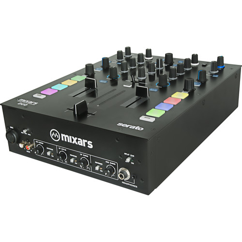 Mixars DUO MKII - Professional 2-Channel Battle Mixer for Serato DJ