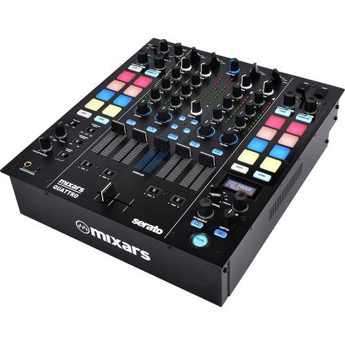 Mixars QUATTRO Professional 4-Channel Mixer and Controller for Serato DJ