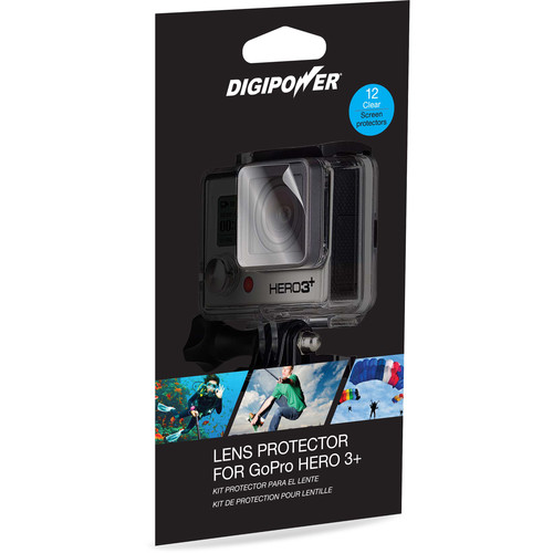 DigiPower Lens Protector for GoPro HERO3 (12-Pack)