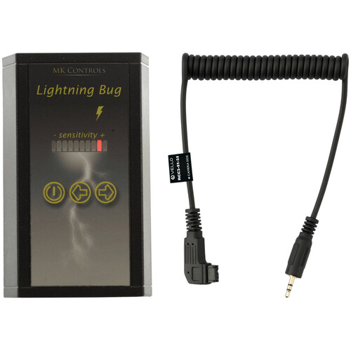 MK Controls Lightning Bug Shutter Trigger with Cable for Select Sony Cameras Kit