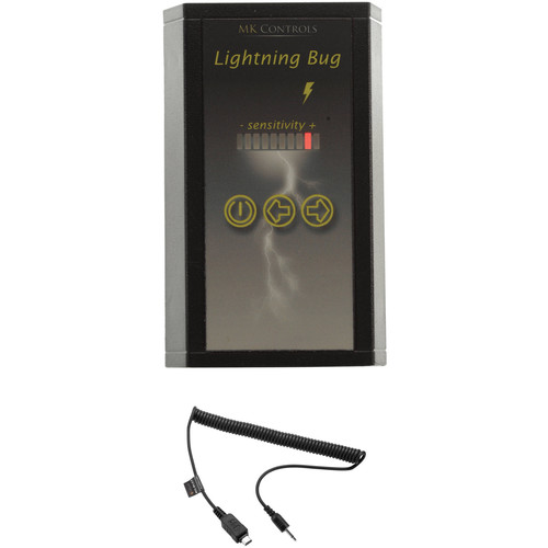 MK Controls Lightning Bug Shutter Trigger with Cable for Select Olympus USB Port Cameras