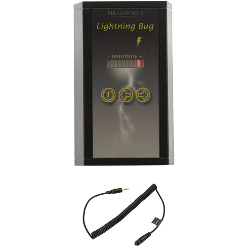 MK Controls Lightning Bug Shutter Trigger with Cable for Select Olympus 3-Pin Cameras Kit