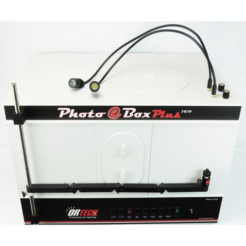 MK Digital Direct Photo-eBox Plus Professional Lighting System 1419 JW with Goosenecks