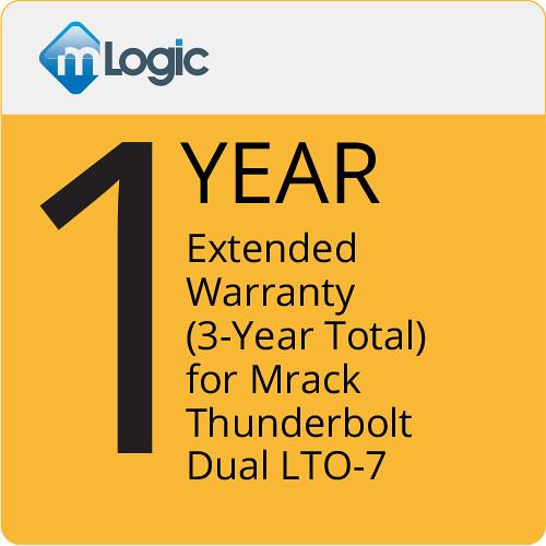 mLogic 1-Year Extended Warranty for mRack Thunderbolt Dual LTO 7 (3-Year Total)