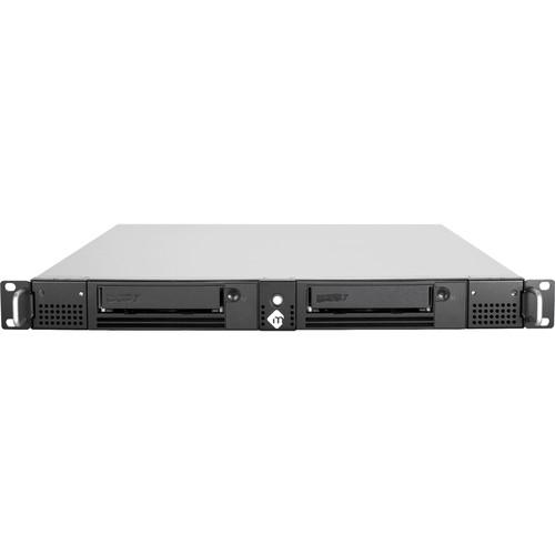 mLogic mRack Thunderbolt 2-Tape System with Dual LTO-7 Drives (1 RU)