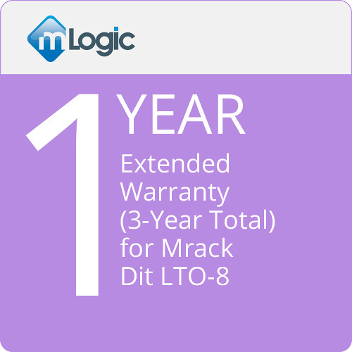 mLogic One Year Extended Warranty (3-Year Total) f/ Mrack Dit LTO-8
