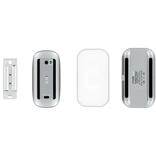 Mobee Technology Magic Charger Battery + Charger Station for Apple Magic Mouse
