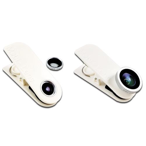 Mobi-Lens Combo Pack (White)