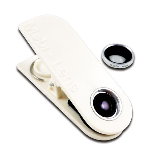 Mobi-Lens Wide+Macro Lens (White)
