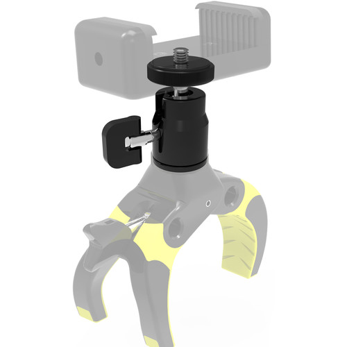 Mobile-Catch Enforced Ball Head for Select Mobile-Catch Clamps