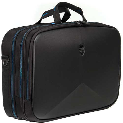 "Mobile Edge Checkpoint Friendly Briefcase for Alienware Vindicator 2.0 15.6"" R3 (Black)"