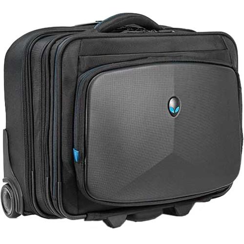 Mobile Edge Alienware Vindicator Rolling Laptop Case (Black)