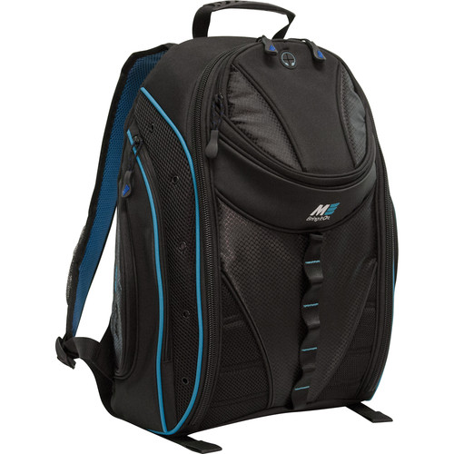 "Mobile Edge 16"" Express Backpack 2.0 (Black/Teal)"