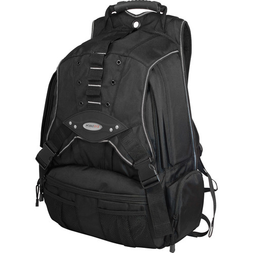 "Mobile Edge 17.3"" Premium Backpack (Black/Silver)"