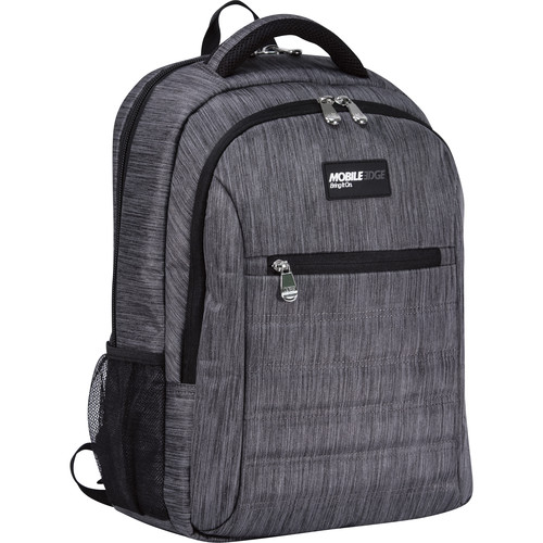 """Mobile Edge Smartpack Backpack 16 to 17"""" Mac (Carbon)"""