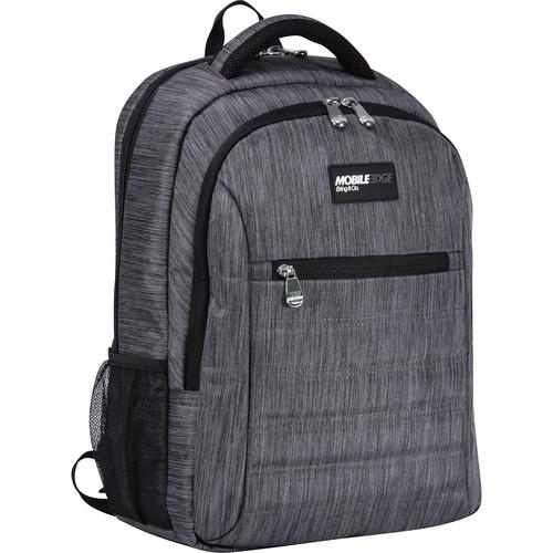 "Mobile Edge SmartPack Backpack for 16"" Laptops (Carbon)"