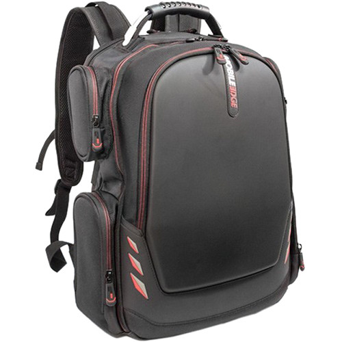 """Mobile Edge Core Gaming Backpack for 17"""" Laptops (Black/Red)"""