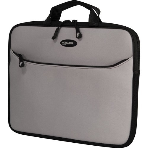 "Mobile Edge SlipSuit 15.6 to 16"" Laptop Tote (Silver/Black)"