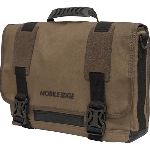 """Mobile Edge 15"""" Notebook ECO Messenger Bag (Olive)"""