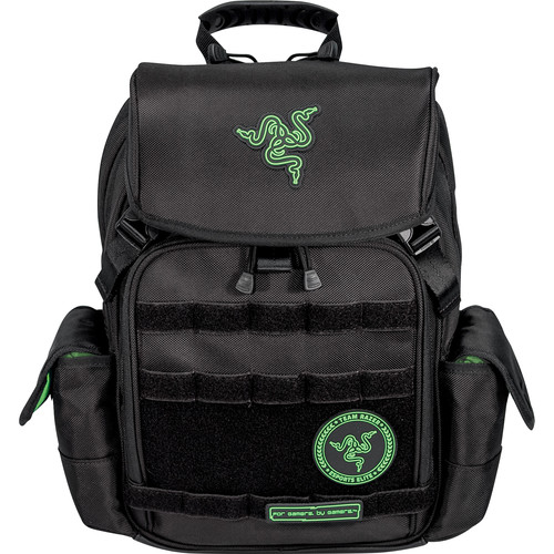 "Mobile Edge Razer Tactical Gaming Backpack for 15"" Laptop (Black)"