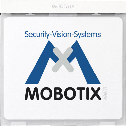 MOBOTIX Mx2wire Info Module with Mx2wire Technology (Silver)