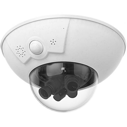 MOBOTIX D16B 6MP Network DualDome Camera Body (No Sensor/Lens)