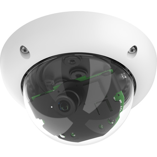MOBOTIX D25M-SEC MonoDome Outdoor IP Camera with Night Sensor (No Lens)