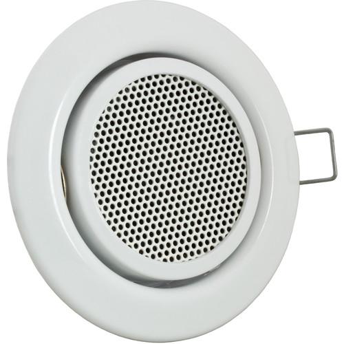 MOBOTIX SpeakerMount with Integrated Speaker for FlexMount Camera (White Finish)