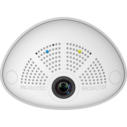 MOBOTIX MX-I25-D016 6MP Hemispheric Network Camera with Day Sensor and 1.6mm Lens (White)